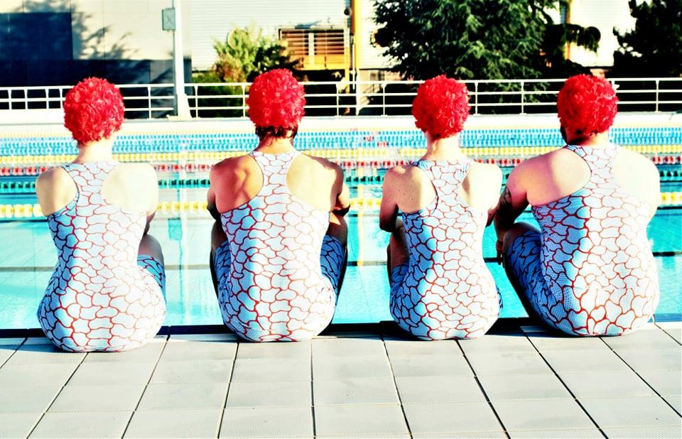 CRAWL dos photo piscine danse Vecteur spectacle rouen normandie
