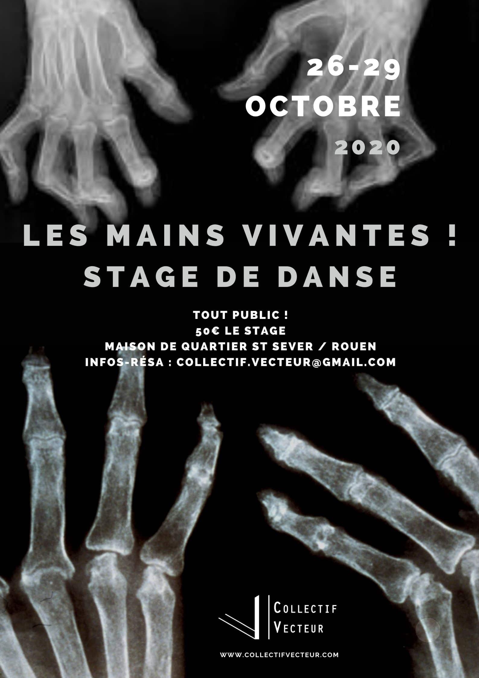 remous danse 2020 mains vivantes collectif vetceur Rouen normandie