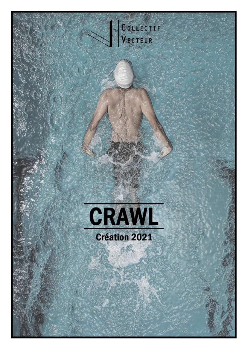 visuel CRAWL spectacle création danse normandie