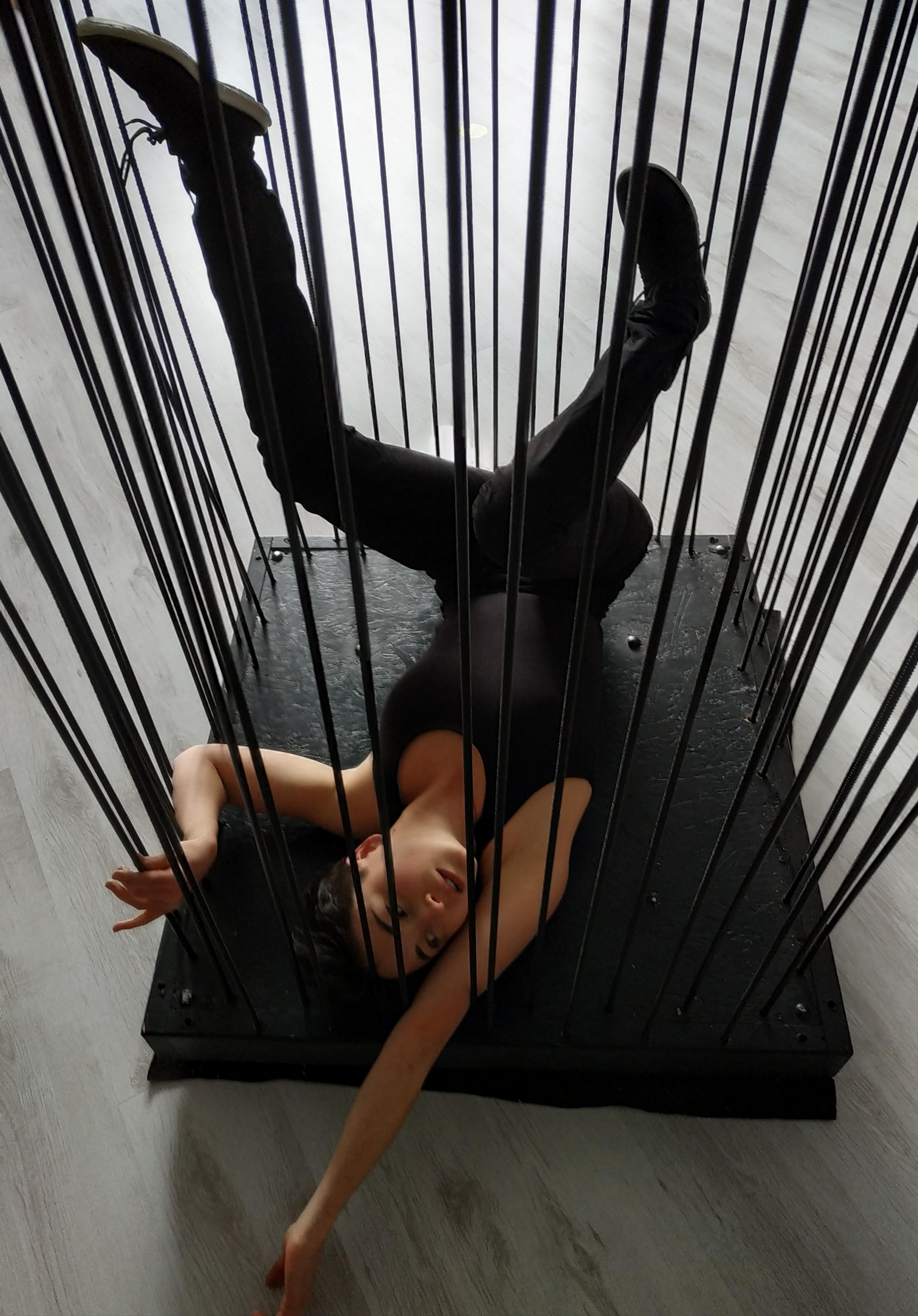 la cage danse création normandie spectacle rouen louviers
