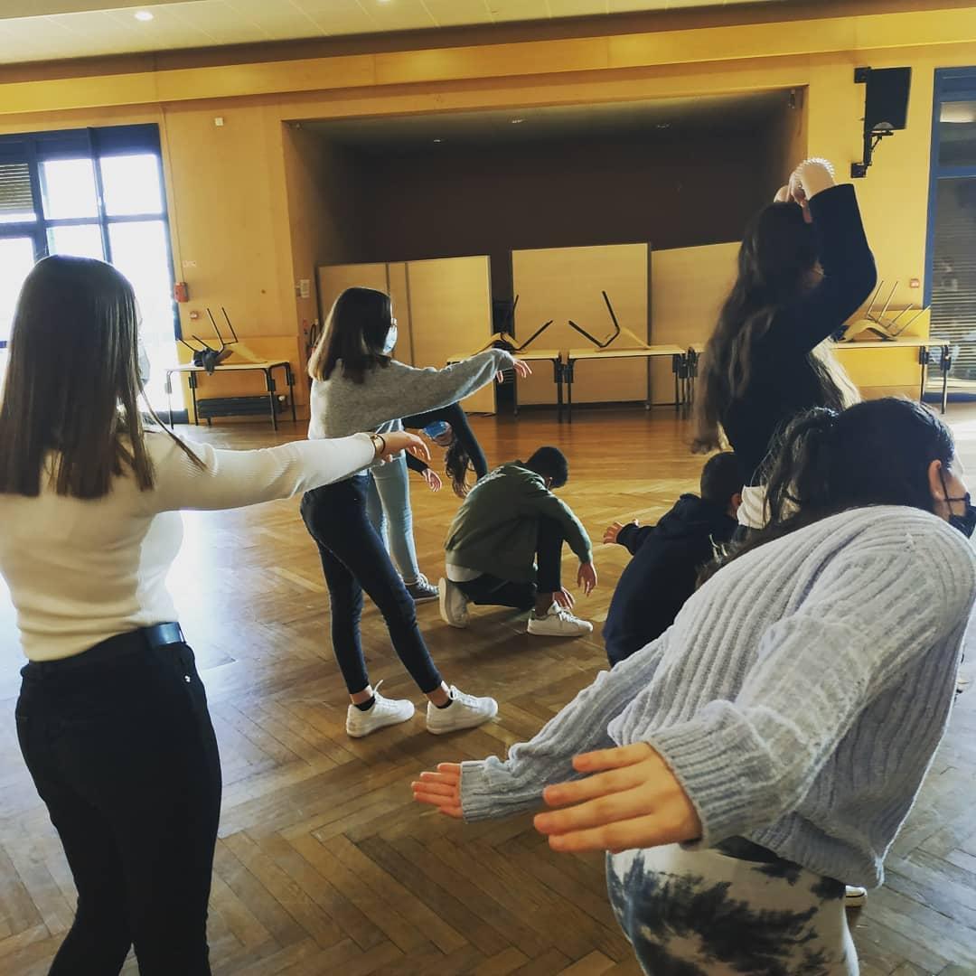 êtres vivants action culturelle danse collège Eure